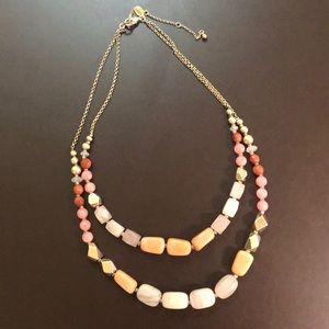LOFT multi strand necklace